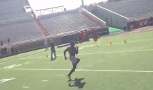 Jakeem Grant Ran a 4.10(!!!) 40-Yard Dash During Texas Tech Pro Day (Video)