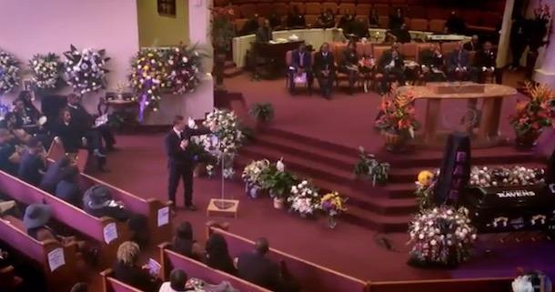 John Harbaugh Speaks Tray Walker Funeral
