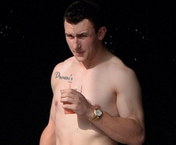 Johnny Manziel tattoo