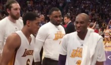 "Kobe Bryant To Teammates: ""Let's Beat the Sh*t Out Of Them"" vs. Warriors (Video)"