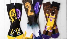 Los Angeles Lakers Wear Kobe Bryant-Themed Socks vs. Warriors (Pics)