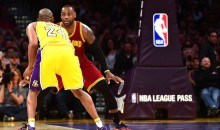 Here's 6 Minutes of Kobe vs. LeBron From Last Night's Game (Video)