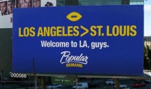 LA Trolls St. Louis With New Rams Billboard (Pic)