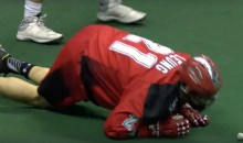Lacrosse Goalie Demolishes Lacrosse Player (Video)