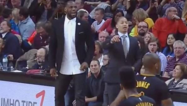LeBron James coach Tyronn Lue