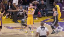 The Lakers Were So Confident vs. The Nets, They Were Dishing Out Passes Like This (Video)