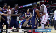 Rockets' Montrezl Harrell Suspended 5 Games For Shoving D-League Ref (Video)