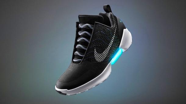 Nike Announces Self-Lacing Shoes
