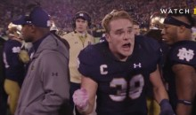 Notre Dame Football Releases Their Own 'Bad Lip Reading' Video