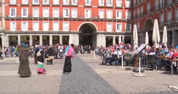 PSV Fans Spanish Beggars
