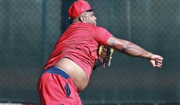 Pablo Sandoval spring training