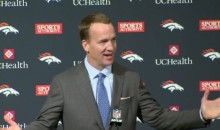 "Peyton Manning Retirement: QB Thanks Von Miller For Taking Time Off His ""Celebrity Tour"" (Video)"