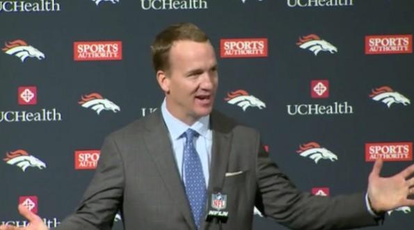 Peyton Manning Thank Von Miller