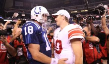 Peyton Manning Cracks Joke About Eli and the Rookie INT Record During Retirement Speech (Video)