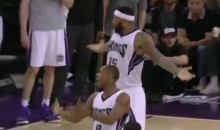 DeMarcus Cousins and Rajon Rondo's Simultaneous Clapping Earned Them Simultaneous Technical Fouls (Video)