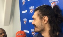 "Steven Adams On Dwight Howard Using Stickum: ""Maybe That's Why He Misses Free Throws."" (Video)"