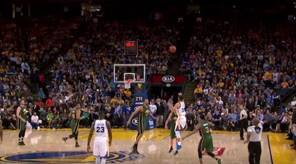 Steph Curry Half-Court Shot