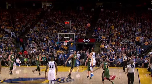 Watch All Of Steph Curry S Half Court Shots This Season