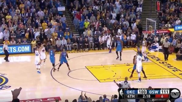 Steph Curry vs OKC