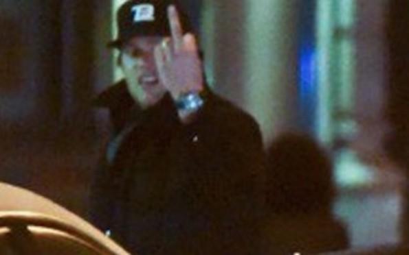 Tom Brady NYC Cabbie Finger