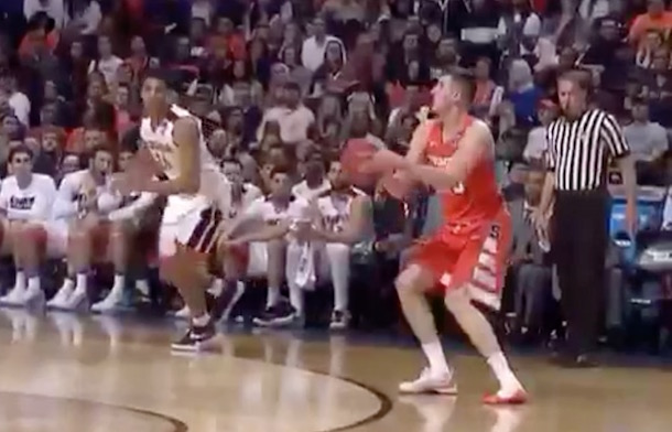 Tyler Lydon Shoeless 3-Pointer