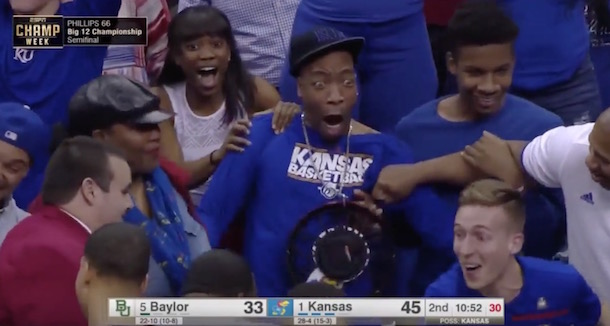 Wayne Selden uncle celebrates