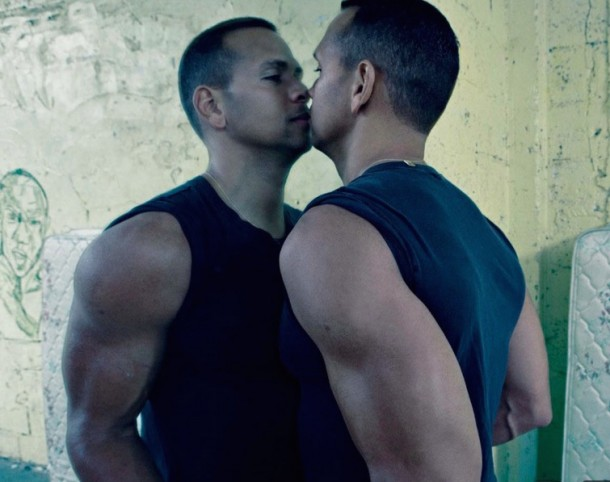 a-rod kissing himself