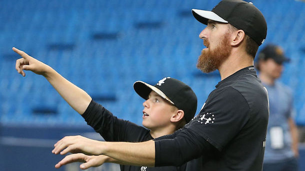 adam laroche 14-year-old son drake white sox