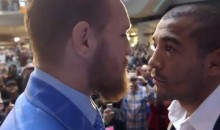 "Jose Aldo On Conor McGregor: ""He's A P*ssy, He Went Down & Quit"" (Video)"