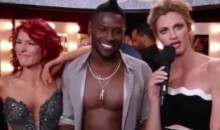Antonio Brown Makes a Boner Joke on 'Dancing with the Stars' (Video)