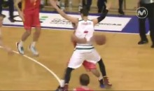 European Swings Ball Around Defender Like a Hula-Hoop, Still Doesn't Get the Assist (Video)
