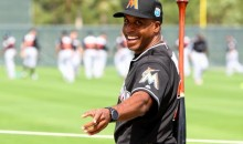 Barry Bonds Beats Giancarlo Stanton and the Rest of the Marlins in Home Run Derby. Kind of.