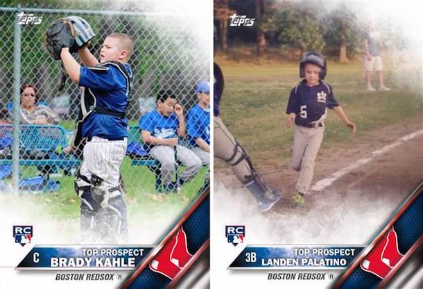 brady kahle baseball card