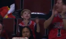 Little Bulls Fan Gets Fired Up When They Near 100-Point Threshold for Free Big Macs (Video)