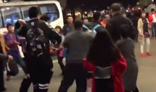 Chinese Basketball Team Brawls with Fans Outside Its Hotel (Video)
