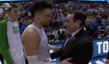 Audio Reveals Duke's Coach K Lied About Post-Game Exchange With Dillon Brooks (Video)