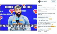 Matt Barnes Has Thoughts About D'Angelo Russell While Trolling Derek Fisher