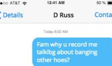BREAKING: Leaked Text Messages from D'Angelo Russell and Nick Young