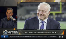 "Colin Cowherd: ""Don't Call Jerry Dumb, He's The Donald Trump Of The NFL"" (Video)"