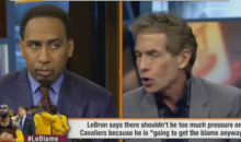 "Skip Bayless: ""The Media Has Given LeBron Passes He Does Not Deserve"" (Video)"