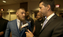 "Conor McGregor On Loss To Nate Diaz: ""It's A Tough Pill To Swallow' (Video)"