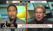 "Skip Bayless: ""Floyd Mayweather Would Punish Conor McGregor In A Street Fight"" (Video)"