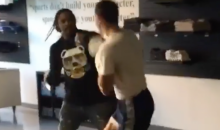 Marshawn Lynch Sparring With UFC Champion Luke Rockhold (Video)