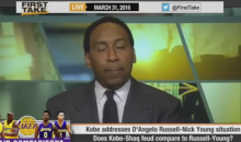 "Stephen A. Smith Says Shaq Stopped ""Hardcore Cats"" In L.A. From Harming Kobe Bryant in 2004 (Video)"