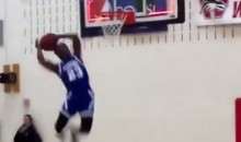 This Awful Dunk Attempt Looks Like Someone Moved the Rim (Video)