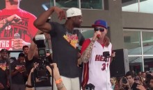 "Here's Dwyane Wade Dancing with Vanilla Ice During a Performance of ""Ice Ice Baby"" (Video)"