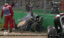 F1 Driver Fernando Alonso Walks Away Unscathed From Horrifying Crash (Video)