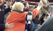 Flyers Grandma Throws Bra Onto Ice, Tells Amazing Filthy Bernie Parent Handjob Story (Videos)