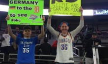 Fans Traveled From Germany To Detroit To See Durant Play; Thunder Sit Him Out