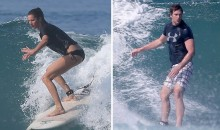 Tom Brady Was Surfing with Gisele in Costa Rica. How Was Your Weekend? (Pics)